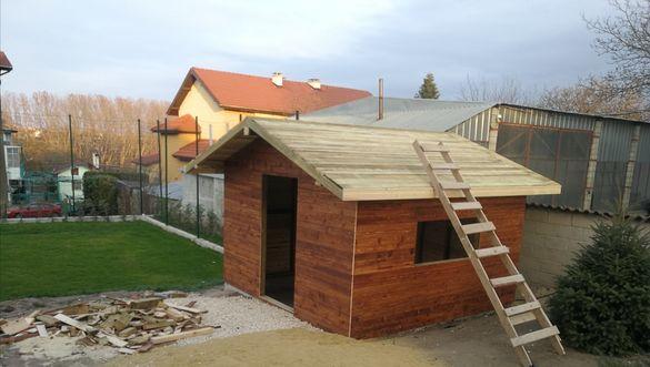 """Малка дървена къща, бунгало - ВИРТУАЛНО!!! КУРС """"НАПРАВИ СИ САМ"""" ."""