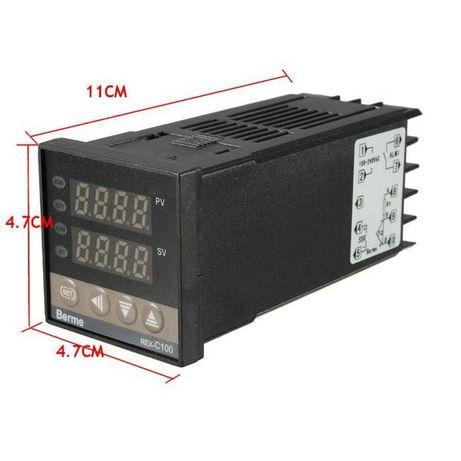 Термоконтролер, терморегулатор + Сонда, Регулатор на температура ПИД