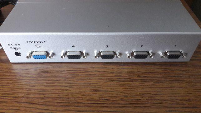 KVM Switch PS/2-USB VGA cu 4 porturi