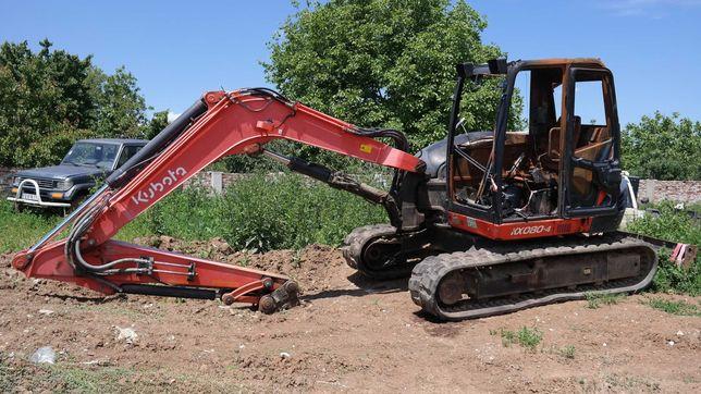 Excavator Kubota kx080-4 - an 2014