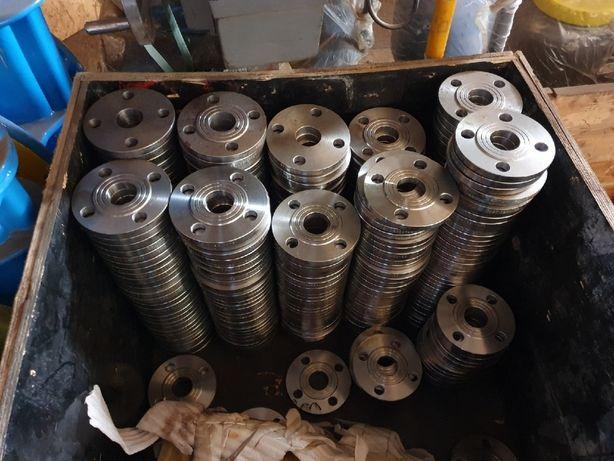 Фланцы стальные (Оптом) нержавеющие, 10, 50, 80, 100. Гост 12820
