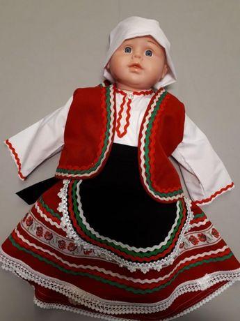Бебешка народна носия момиче