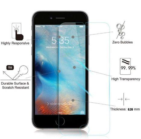 Folie de protectie din sticla securizata pentru iPhone 7 Case Friendly