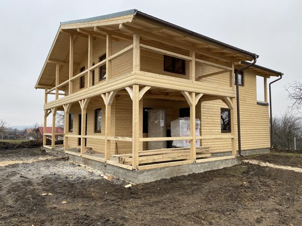 Case cabane lemn
