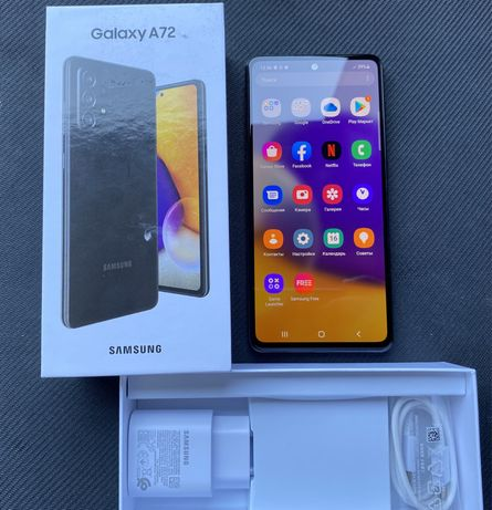 Samsung Galaxy A72 128gb ИДЕАЛ