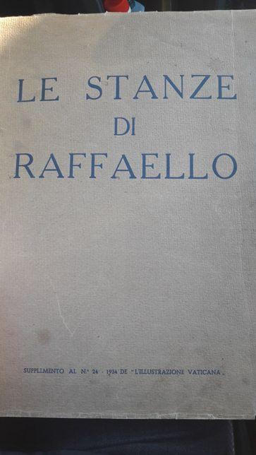 Album de artă Le Stanze di Raffaello 1934