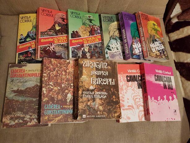 vintila corbul colectie (11 vol) si alte romane (vezi descrierea)