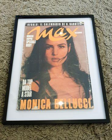 Рамкирано списание Max Monica Bellucci 1991