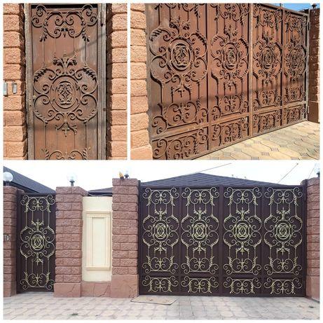 Покраска. Красим заборы, крыши, сплитерные блоки, калитки, фасад, дом