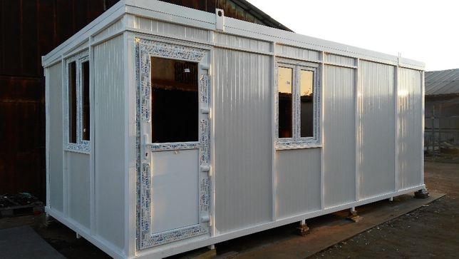 CONTAINER modular metalic tip OFFICE - 6,0mX2,45mX2,50m