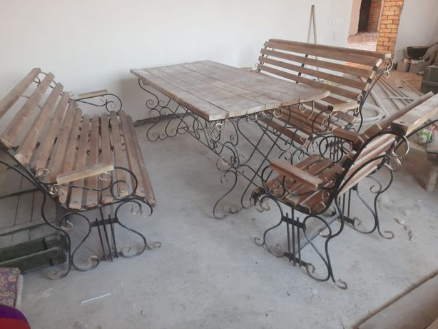 Стол стулья для сад