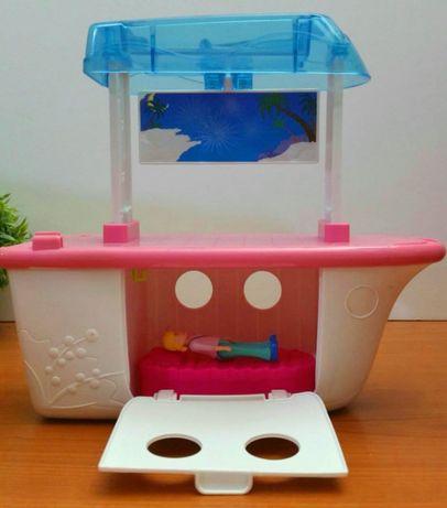 Barca Polly Pocket pentru papusi cu accesorii - Mattel