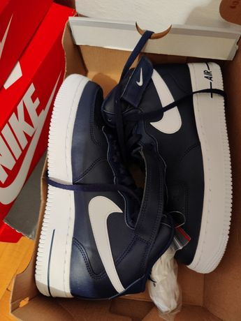 NIKE Air force 1 mid navy 39, 38.5