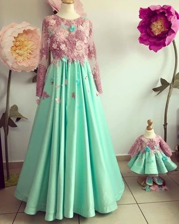 Set rochite mama-fiica
