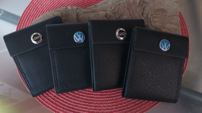 Portofele barbati cu logo auto VW si AUDI la doar 59 lei