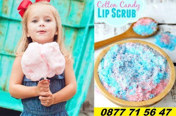 Цветен захарен памук - боя с над 90% натурални вещества за 6кг захар
