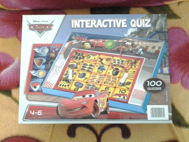 Disney Cars McQueen Interativ Quiz Puzzle by Clementoni +4 ani