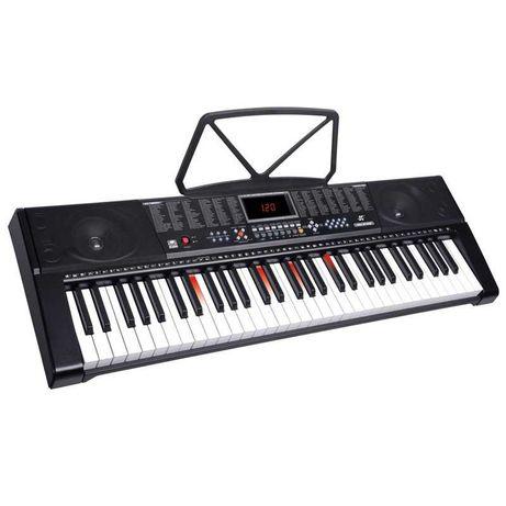 Orga /claviatura 3 lectii ,50 melodii demo, clape iluminate ,61 clape