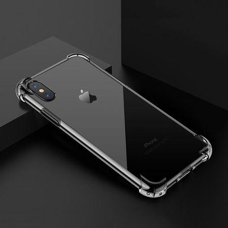 Силиконов ANTI-KNOCK устойчив кейс iPhone 11, Pro, X, XS, XR, XS MAX
