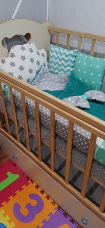 Продам детскую кровать и бортики!