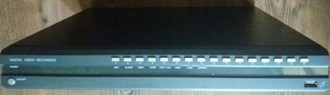 DVR 16 cam, lan,Hi-end+wd 1,5T