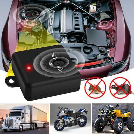 Ултразвуков уред за отблъскване гризачи- автомобилни, каравани, кемпер