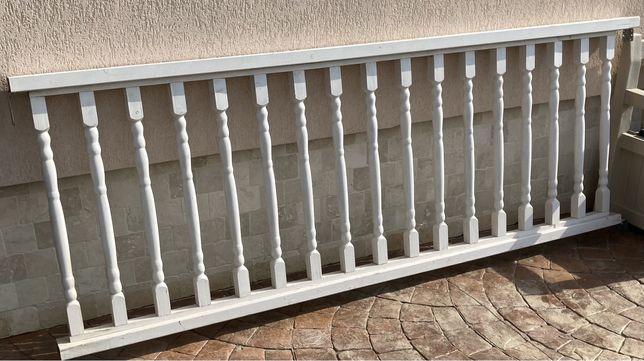Balustrada lemn pentru terasa