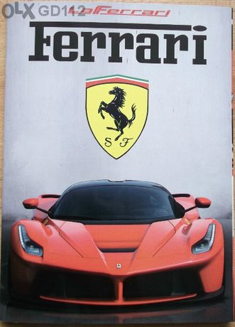 книга списание брошура каталог Ferrari LaFerrari