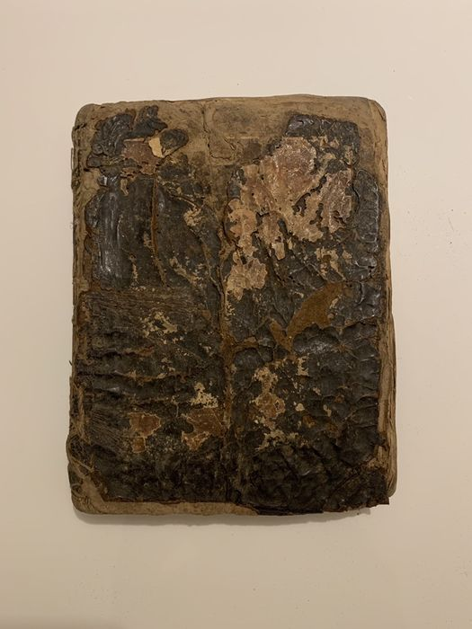 Carte bisericeasca foarte veche, secolul XIX, Psaltire Bucuresti - imagine 1
