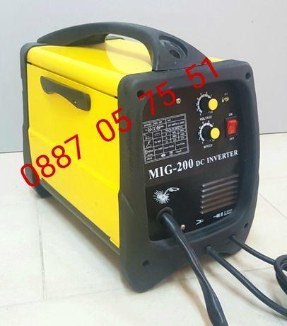 Телоподаващ инверторен апарат 200 ампера. Електрожен