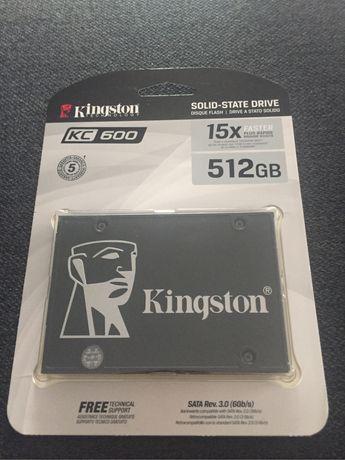 "Solid State Drive (SSD) Kingston KC600, 512GB, 2.5"", SATA III"