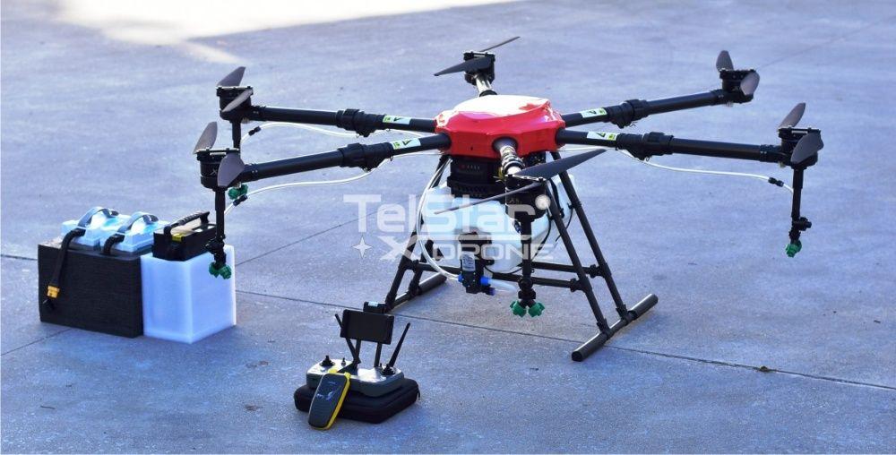 Селскостопански дрон Telstar TS16 16L вместимост + зарядно и батерии