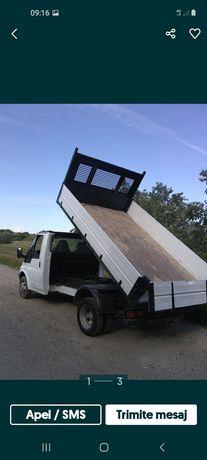 Transport balastru nisip moluz mobila