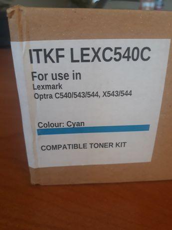 цветна тонер касета за по-стари модели лазерни принтери LEXMARK