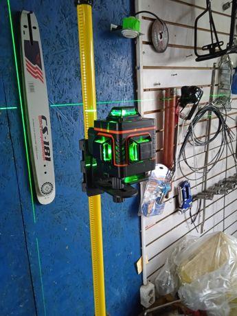 Лазерный уровень. 5лучей 3D.4D.