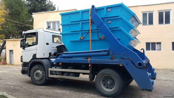 Извозване на всякакви отпадъци!Контейнери под наем!