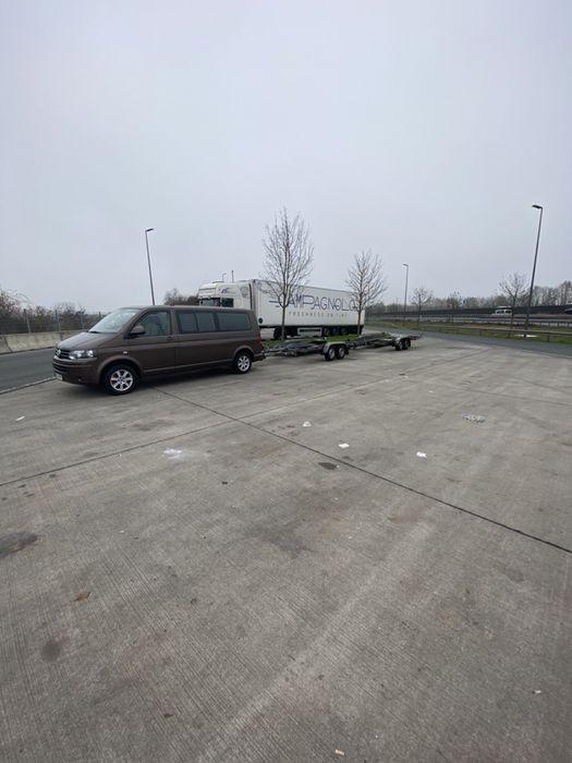 Transport auto platforma sau marfa cu remorca Leordina - imagine 1