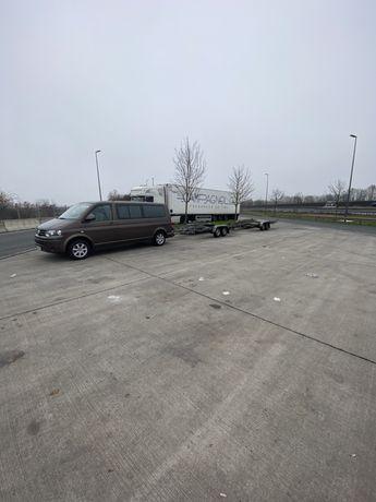 Transport auto platforma sau marfa cu remorca