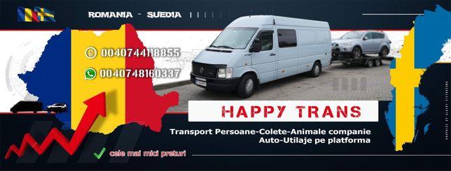Transport Suedia Romania Persoane Auto Platforma Atv Quadd