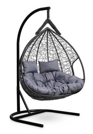 Подвесное двухместное кресло-кокон fisht. Нур-Султан. Доставка
