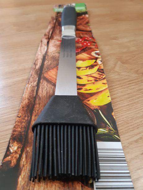 Accesoriu gratar grill pensula silicon cu mâner