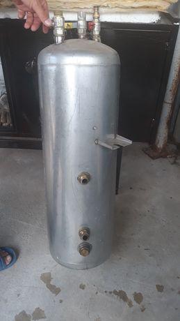Boiler de inox cu serpentina