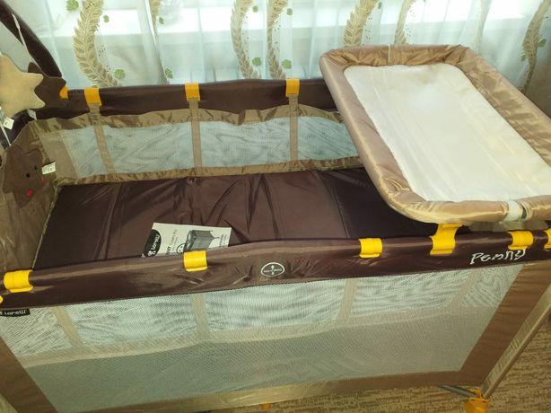 Продается кровать-манеж болгарская