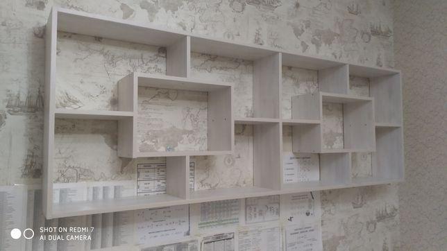 Полка стеллаж для книг, сувениров и пр.