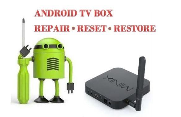Ремонт и поддъжка на Android tv box