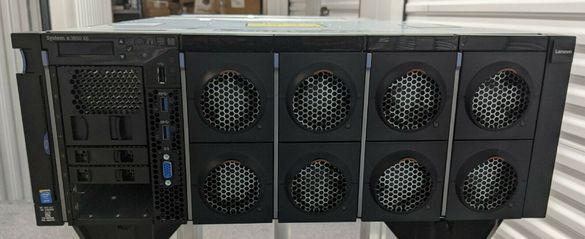 Сървър IBM X3850 X6 4*Xeon Е7-8880v2 15C 2.5-3GHz 64GB RAID M5210/4GB
