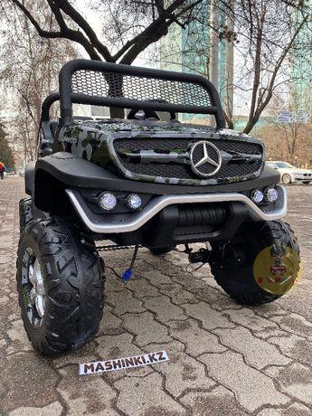 Детский багги Mercedes-Benz Unimog доставка по КЗ бесплатно +бант номе