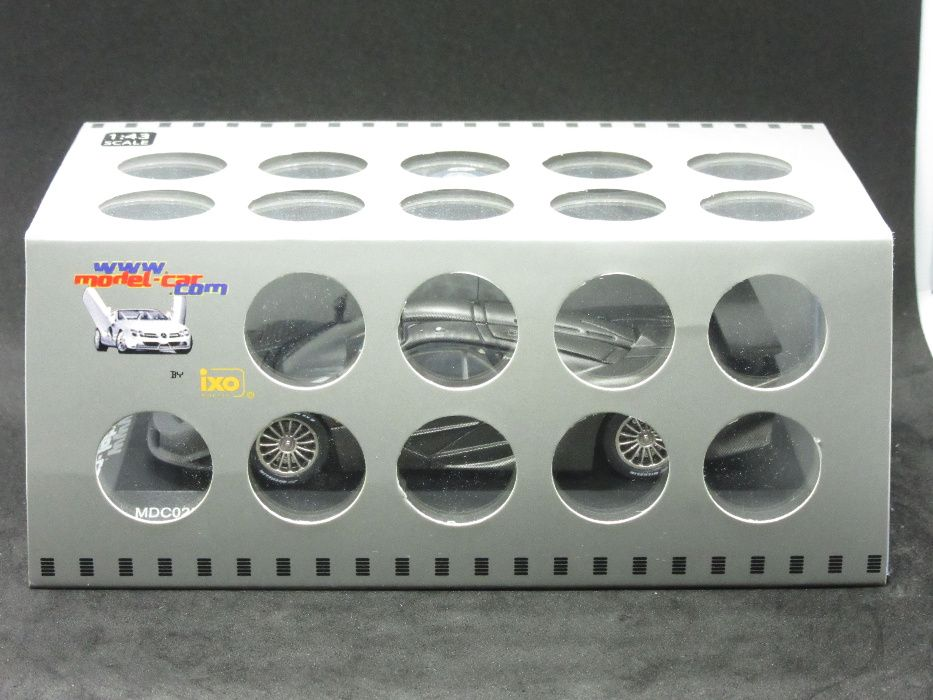 Macheta McLaren F1 GTR long tail iXO 1:43 Bucuresti - imagine 1