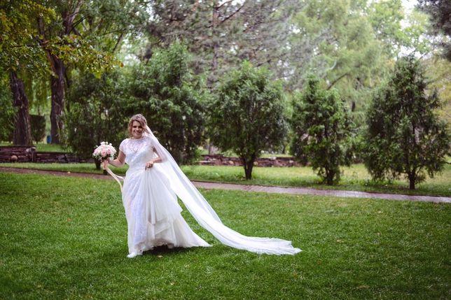 Продам свадебное платье бренда Gabbiano