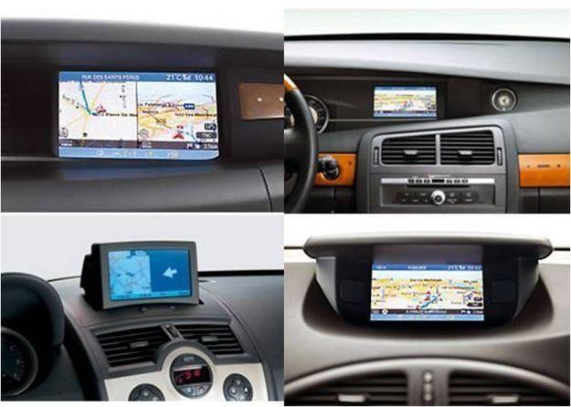 Renault cd navigatie harti gps